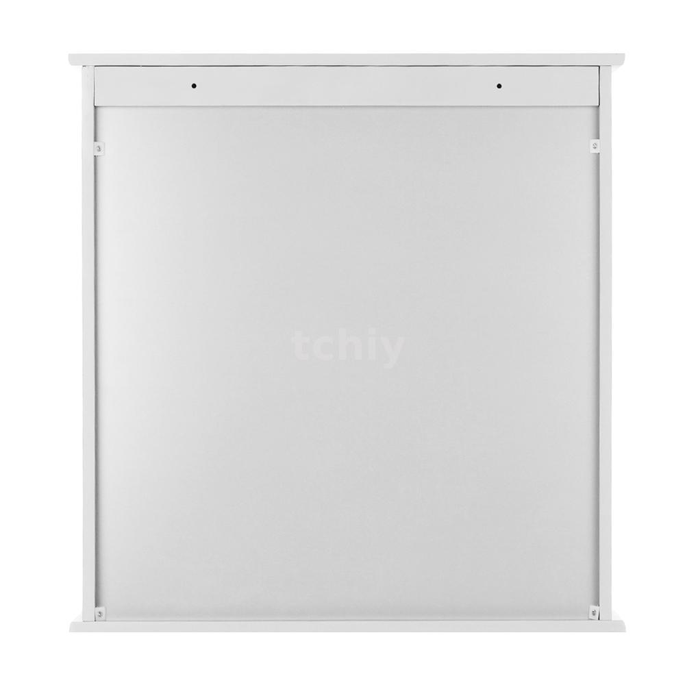 badezimmer wandschrank mit spiegel ablage spiegelschrank h ngeschrank wei z1b3 ebay. Black Bedroom Furniture Sets. Home Design Ideas
